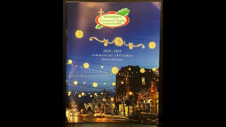 Bronners 2020 Christmas Catalog Sylvania Downtown Sylvania featured on Bronner's annual Christmas display