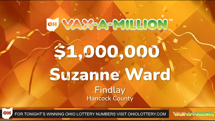 'I wasn't really sure if I was reliving a dream' | Findlay's Suzanne Ward is Ohio's latest Vax-a-Million winner