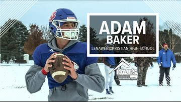 Lenawee Christian's Adam Baker: Athlete of the Week