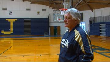Long-time St. John's coach Ed Heintschel is retiring