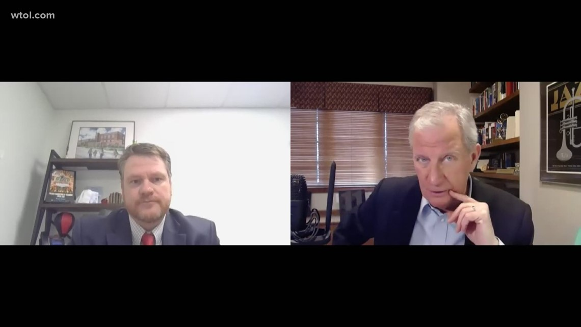 Leading Edge with Jerry Anderson: Feb. 21 — Toledo Federation of Teachers President Kevin Dalton   Part 2