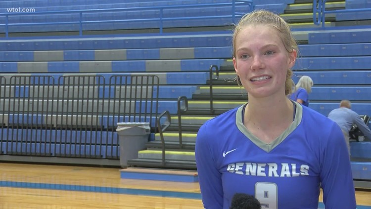 Athlete of the Week: Anthony Wayne volleyball's Taylor Russell