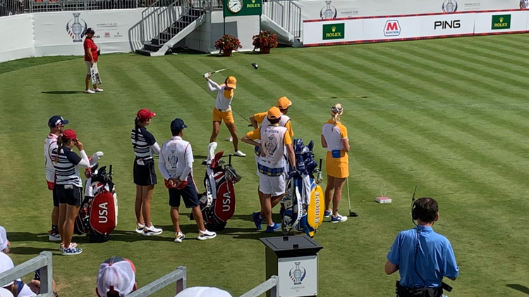 Solheim Cup officially comes to a close: Team Europe wins 15-13