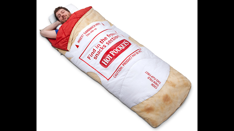 Wrap yourself up in your favorite food with these blankets