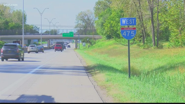 I-475 westbound closed between I-75, US-23 this weekend