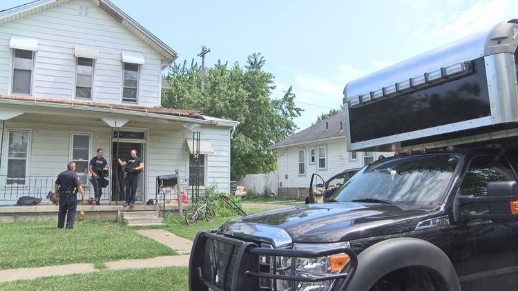 Narcotics raid west Toledo
