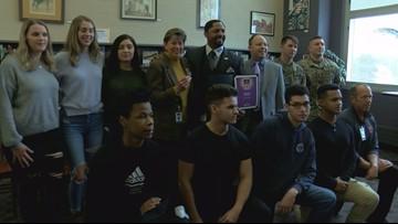 Area schools receive Purple Star Award, designating them as 'military-friendly'