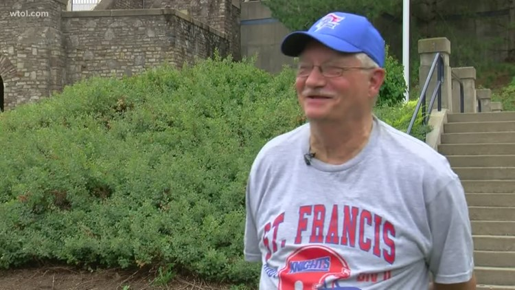 St. Francis graduate becomes one of the Knight's biggest fans