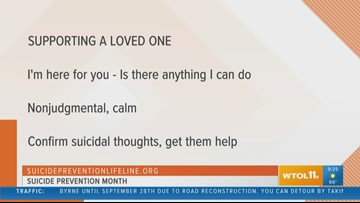 UTMC raises awareness during 'Suicide Prevention Month'