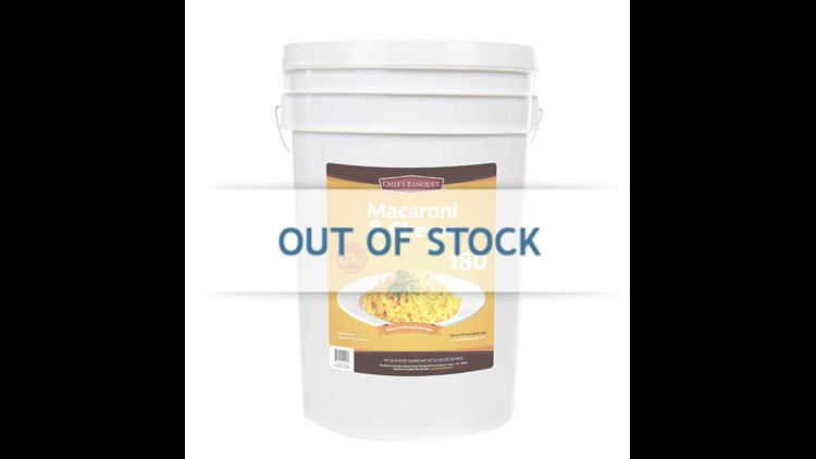 Stock up for the apocalypse with Costco's 26-pound Macaroni & Cheese bucket
