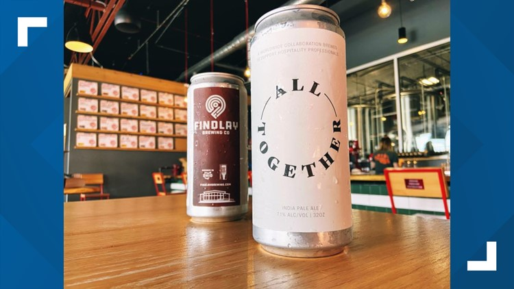 'All Together' beer being brewed, sold as fundraiser