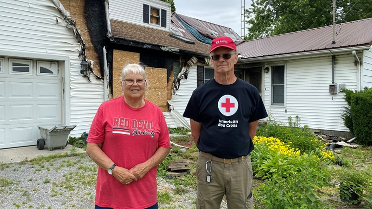 Arlington woman credits smoke detector installed by Red Cross for saving her life
