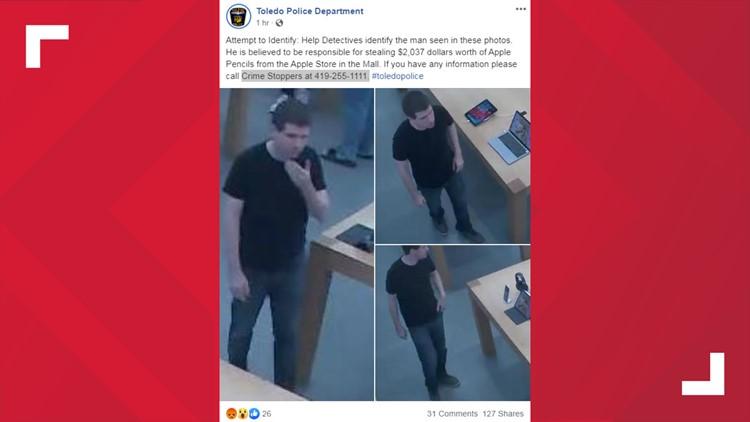 Apple Pencil robber