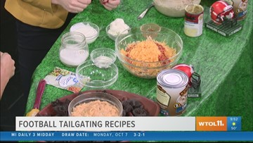 Score some points with these tailgating favorites from Busy Mama Meals