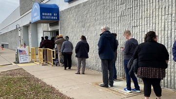Voters flock to polls for last day of early voting