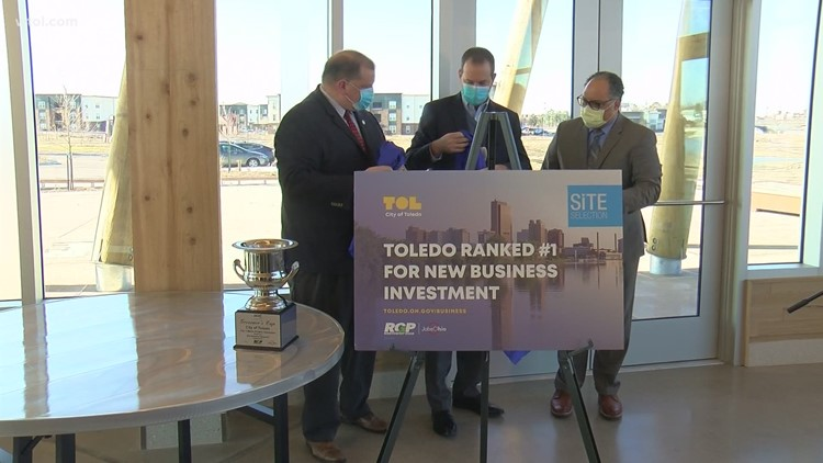 Toledo takes top spot in rankings for new business investment by Site Selection