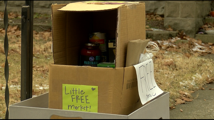 South Toledo neighborhood creates Little Free Pantry to help those in need