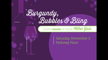 A night of Burgundy, Bubbles and Bling