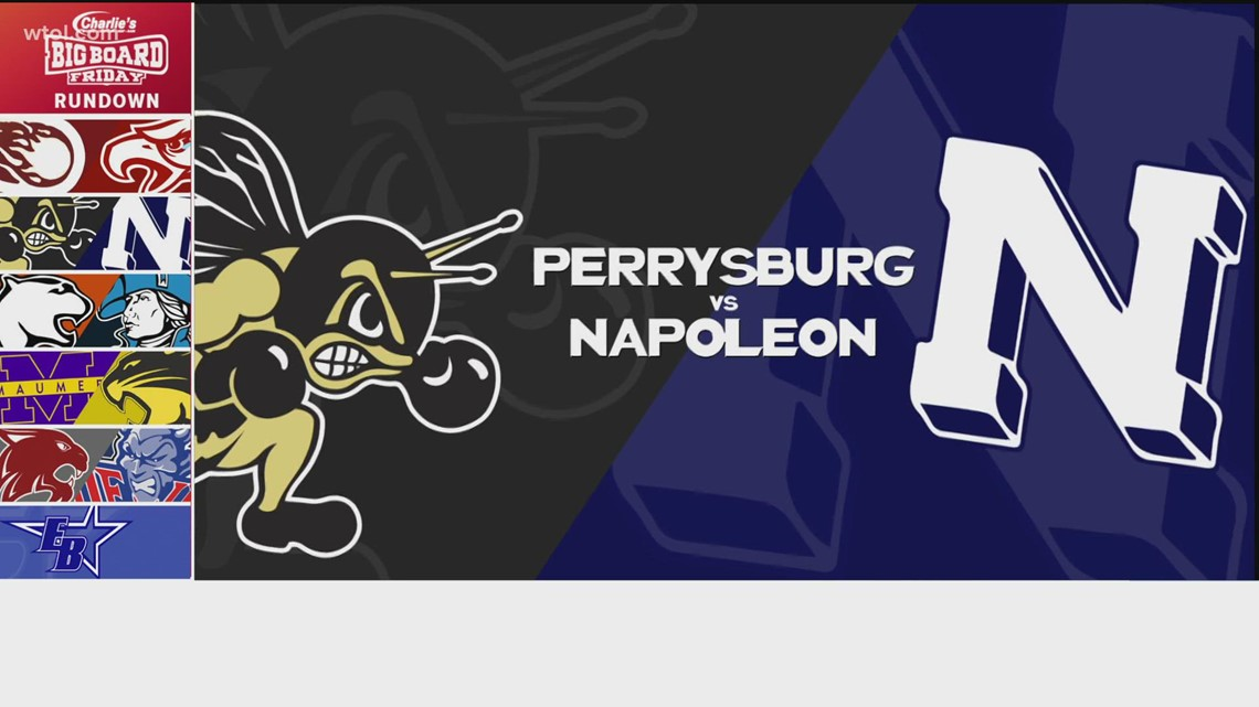 Big Board Friday Week 5: Perrysburg vs. Napoleon