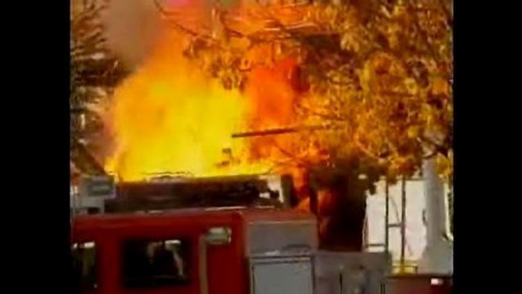 3 Ohio firefighters hurt in adult bookstore blast