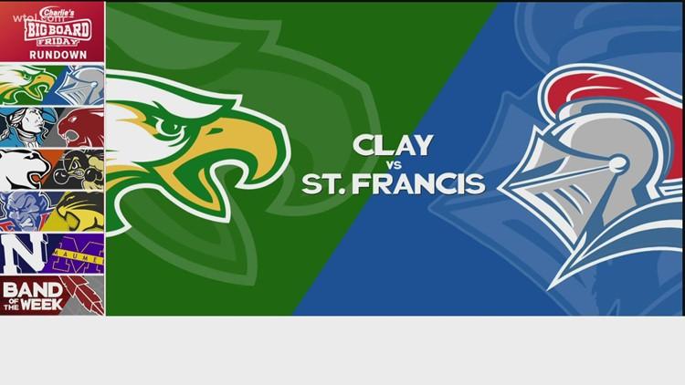Big Board Friday Week 6: Clay vs. St. Francis