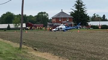 2 in the hospital following semi vs. car crash on Fostoria Rd.