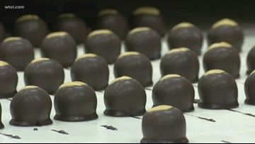 Perrysburg shop cranks out 250,000 buckeyes in the week before OSU-UM game