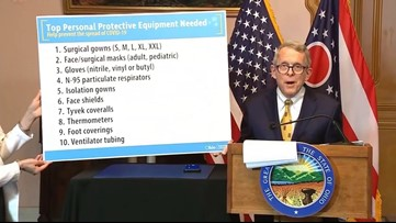 Coronavirus Update | Gov. DeWine asks for manufacturers to produce PPE