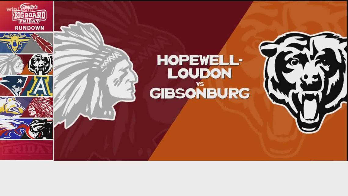 Big Board Friday Week 10: Hopewell-Loudon vs. Gibsonburg