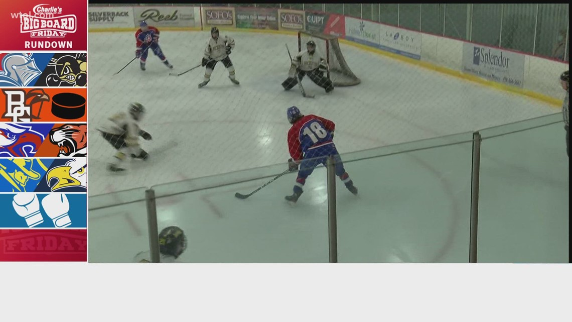 St. Francis vs. Perrysburg hockey, Northwood vs. TC and MORE games | Big Board Friday Week 20, Pt. 2