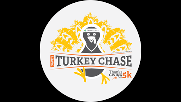 Thanksgiving Turkey Chase