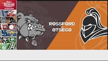 Charlie's Dodge Chrysler Jeep Ram Big Board Friday: Rossford vs. Otsego