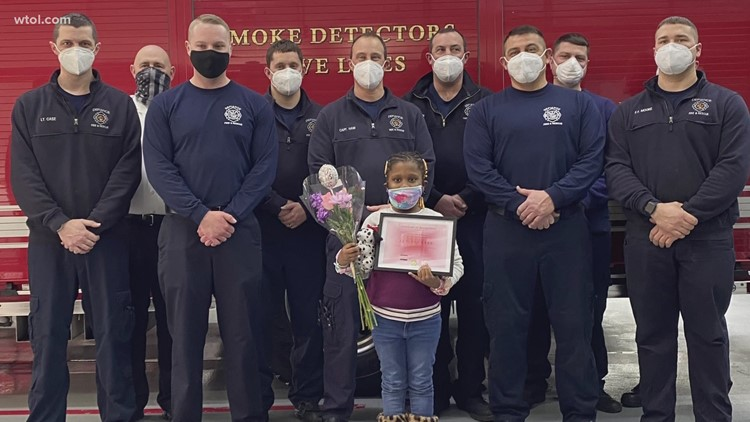 6-year-old Defiance girl saves family members from house fire