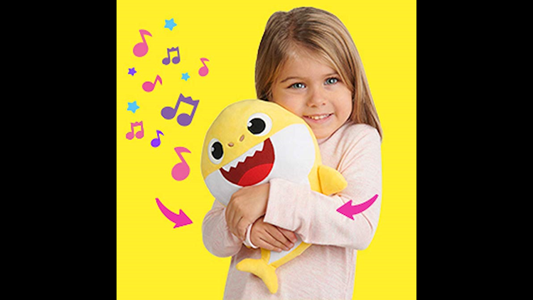 075353792 A parent's worst nightmare: Singing Baby Shark toys for sale on Amazon