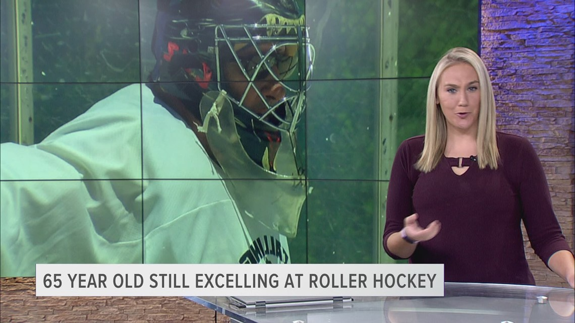 65-year old still excelling at roller hockey at Ottawa Park