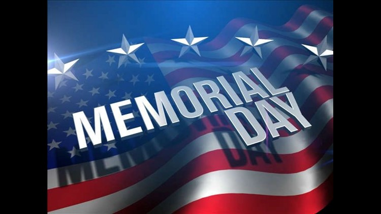 Memorial Day parades and events