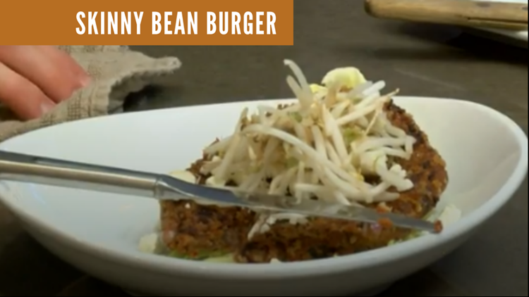 Recipe: Skinny bean burger