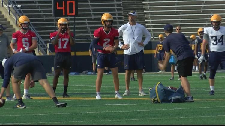 Toledo quarterbacks not worried about rotation