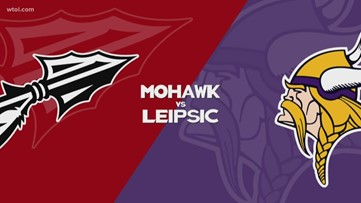 Leipsic hosts Mohawk and come away with the win