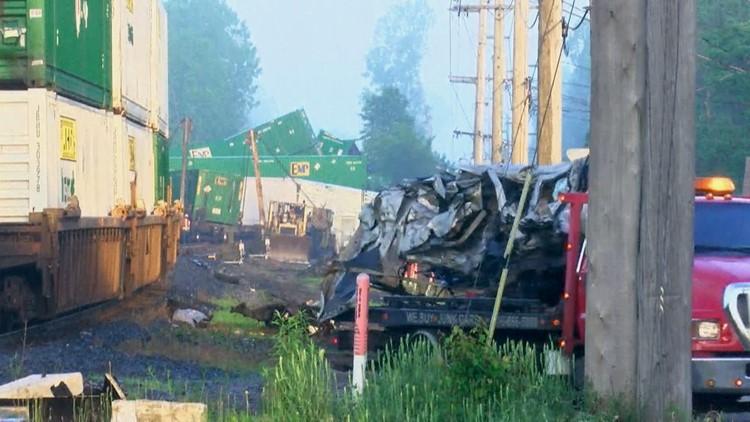 Swanton Train Crash