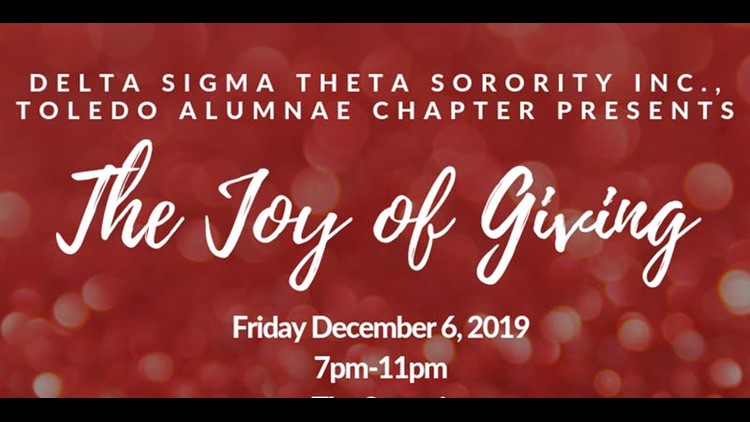 Joy of Giving Presented by Delta Sigma Theta Sorority Inc.