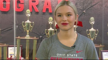 Getting to know 4 Buckeye cheerleaders from northwest Ohio