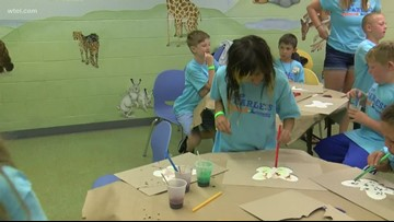 Camp Fearless helps grieving children