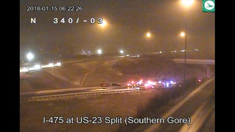 Deadly crash closed WB I-475 ramp in Sylvania Twp  | wtol com