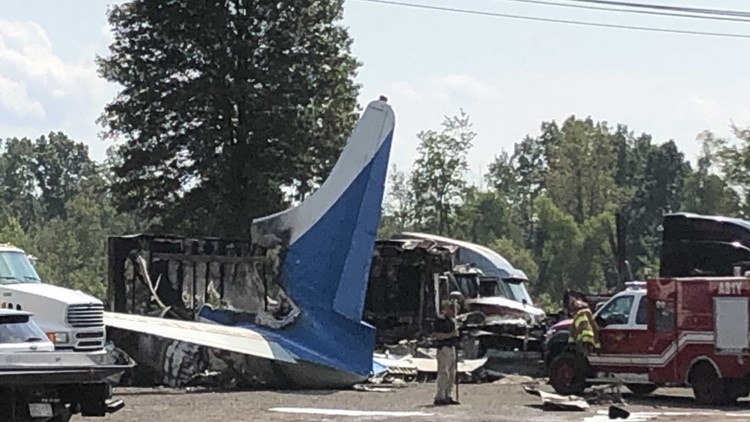 Cargo plane crashes near Toledo Express