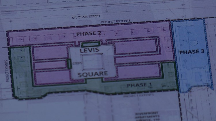 Proposed Levis Square plan