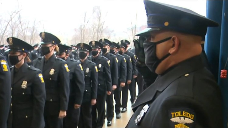 Police Officer Brandon Stalker being honored and laid to rest Tuesday