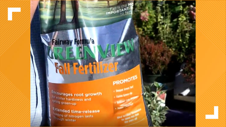 Why Fall Is The Best Time To Fertilize Your Lawn Wtol Com