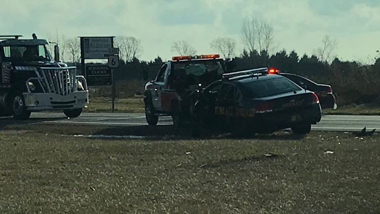 Wood Co. Sheriff's deputy involved in crash on US 6