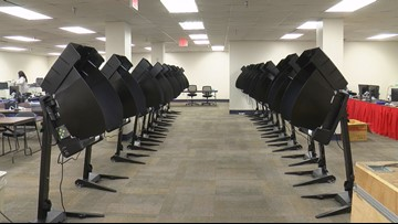 Lucas County Early Vote Center debuts new voting machines to public